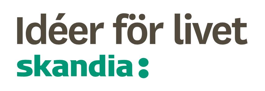 Idéer för livet. Skandia logotyp.